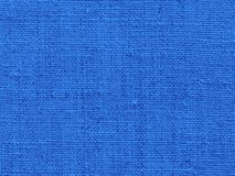 Fabric background in blue Stock Image