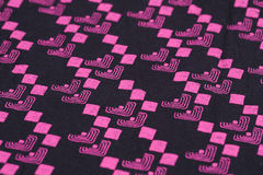 Fabric background. Colorful fabric background closeup picture royalty free stock photography