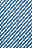 Fabric background in diagonal blue and white stripe, cotton texture. Top view Royalty Free Stock Photo