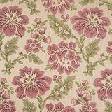Fabric background with floral pattern Stock Image
