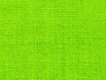Fabric background in green Stock Photography