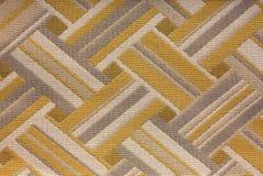 Fabric Background Pattern. Colorful Geometric Abstract Cloth Fabric Background Pattern Stock Photo