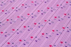 Fabric background. With pattern closeup picture Royalty Free Stock Photos