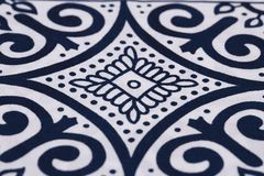 Fabric background with pattern. Closeup picture Stock Images