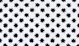 Fabric background with polka dots. For your design stock image
