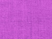 Fabric background in purple Royalty Free Stock Photos