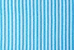 Turquoise blue and white striped fabric background texture stock images