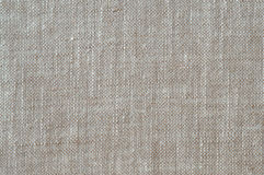 Fabric background. Textured flax fabric as background Royalty Free Stock Images