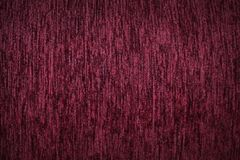 Fabric background. Top View of Cloth Textile Surface. Red thread.  royalty free stock photography