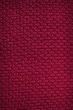 Fabric background. Top View of Cloth Textile Surface. Red thread.  stock image