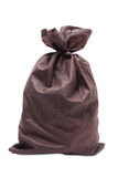 Fabric bag, full, tied Stock Photos