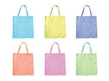 Fabric bag Stock Photos