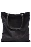 Fabric bag. Isolated on white background royalty free stock image