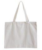 Fabric bag isolated on white background Royalty Free Stock Image