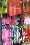 Fabric Bali Royalty Free Stock Photography
