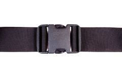 Fabric belt with  plastic fastener Stock Images