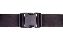 Fabric belt with  plastic fastener Stock Images
