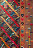 Fabric from bhutan royalty free stock image