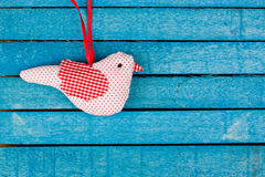 Fabric bird Royalty Free Stock Photography