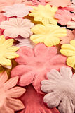 Fabric blossom Royalty Free Stock Images