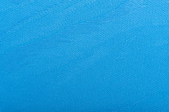 Fabric blue Curtain Texture. Fabric blind curtain background Stock Photos