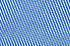 Fabric with blue diamond pattern Stock Photography