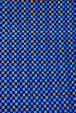 Fabric Blue Square Eye Catching Pattern Royalty Free Stock Images