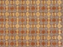 Fabric boucle-Seamless texture. Fabric boucle of brown and yellow colors. Seamless texture Royalty Free Stock Photography