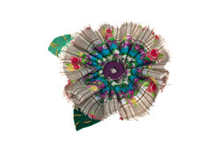 Fabric bow. Royalty Free Stock Images