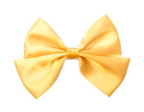 Fabric bow. Stock Photos