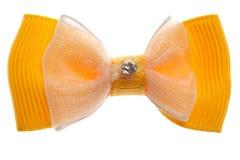 Fabric bow Stock Photo