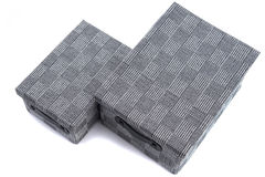 Fabric box Royalty Free Stock Image