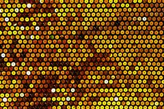 Fabric with bright sequins for background Royalty Free Stock Images