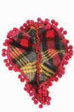 Fabric Brooch Royalty Free Stock Image