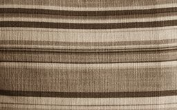 Fabric brown Stock Photography