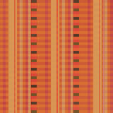 Fabric with brown pinstripes Stock Image