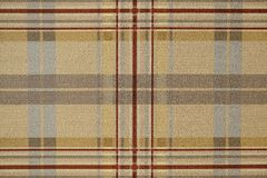 Fabric brown plaid. Brown check pattern. Tartan design as background. Checked fabric. Fabric brown plaid. Brown check pattern. Tartan design as background stock images