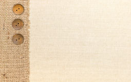 Fabric and Burlap Royalty Free Stock Image