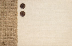 Fabric and Burlap Stock Photography