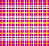 A fabric with a checked pattern in pink tones Stock Photos