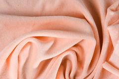 Fabric for clothing. New fabric for clothing and accessories velvet pleated Stock Photo