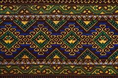 Fabric color Antique handwoven fabric natural dyes fabrics beautiful colors beautiful fabrics old fashion fabrics silk thai Royalty Free Stock Photos