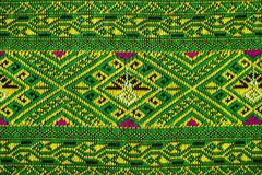 Fabric color Antique handwoven fabric natural dyes fabrics beautiful colors beautiful fabrics old fashion fabrics silk thai Royalty Free Stock Photo