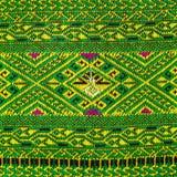 Fabric color Antique handwoven fabric natural dyes fabrics beautiful colors beautiful fabrics old fashion fabrics silk thai Stock Photography