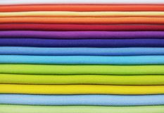 Fabric color palette Stock Images