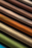 Fabric color samples Royalty Free Stock Images
