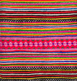 Fabric with colorful pattern Royalty Free Stock Image