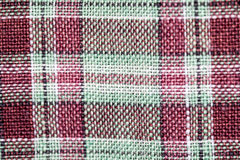 Fabric colorful plaid Royalty Free Stock Images