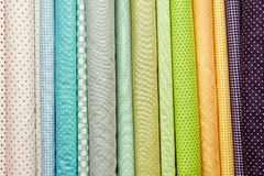 Fabric colours Royalty Free Stock Photo