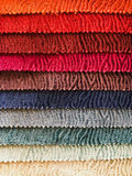 Fabric colours selection Royalty Free Stock Photography